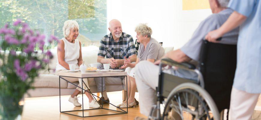 Why is senior living a safer option?