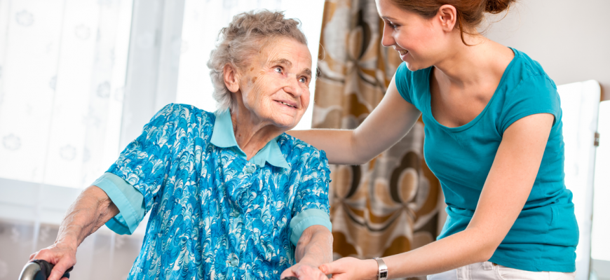 Caring for Senior with Cerebral Palsy | The Falls Home