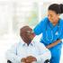 Senior Care skilled nurses aiding senior patients